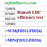 What Is Efficiency >> What Is Efficiency Test In Rpsc Ldc Rajasthan Govt Jobs